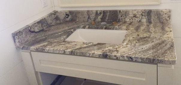 Desert Pearl Granite Vanity
